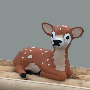 (Geboorte) spaarpot bosdieren, hertje